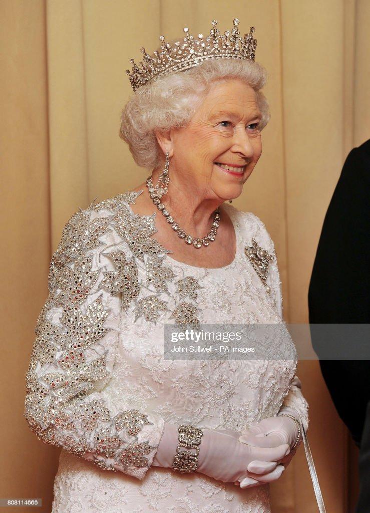 Royalty - Queen Elizabeth II Visit to Canada : News Photo