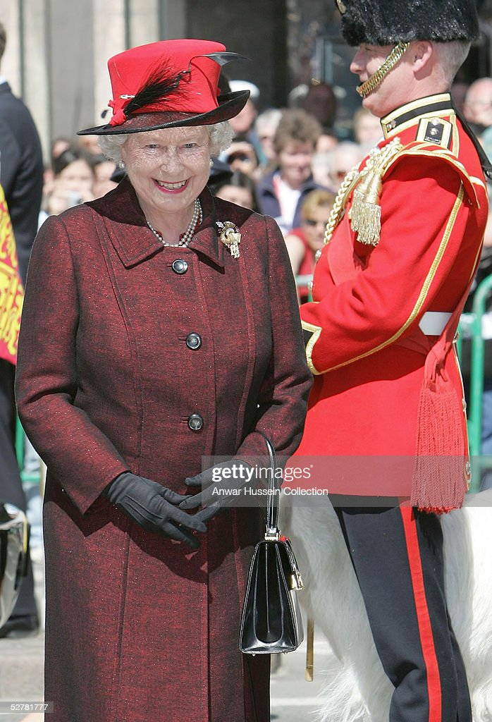Queen Elizabeth II Commemorates Liberation Of The Channel Islands : News Photo