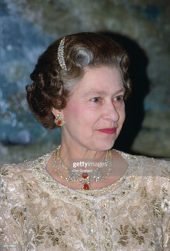 Queen In Spain : News Photo