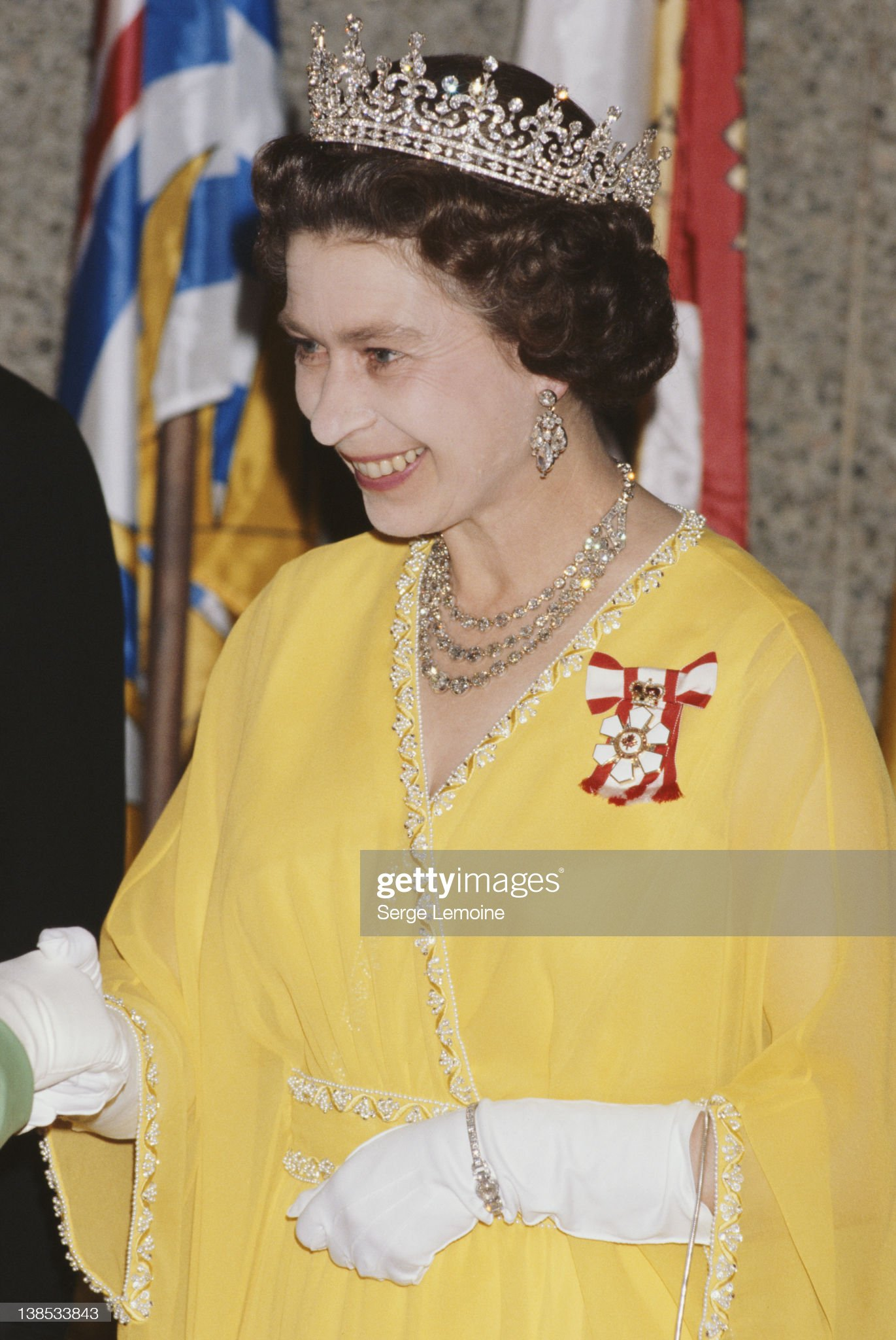 Queen Elizabeth II : News Photo