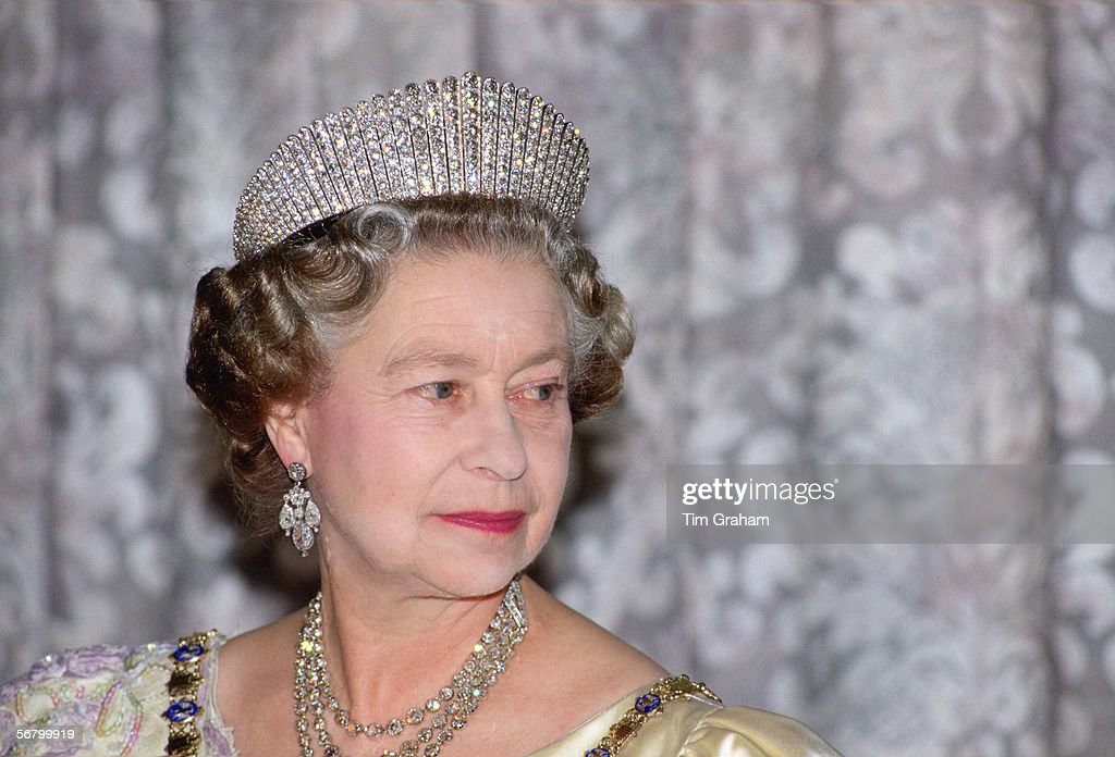 Queen Icelandic State Banquet : News Photo