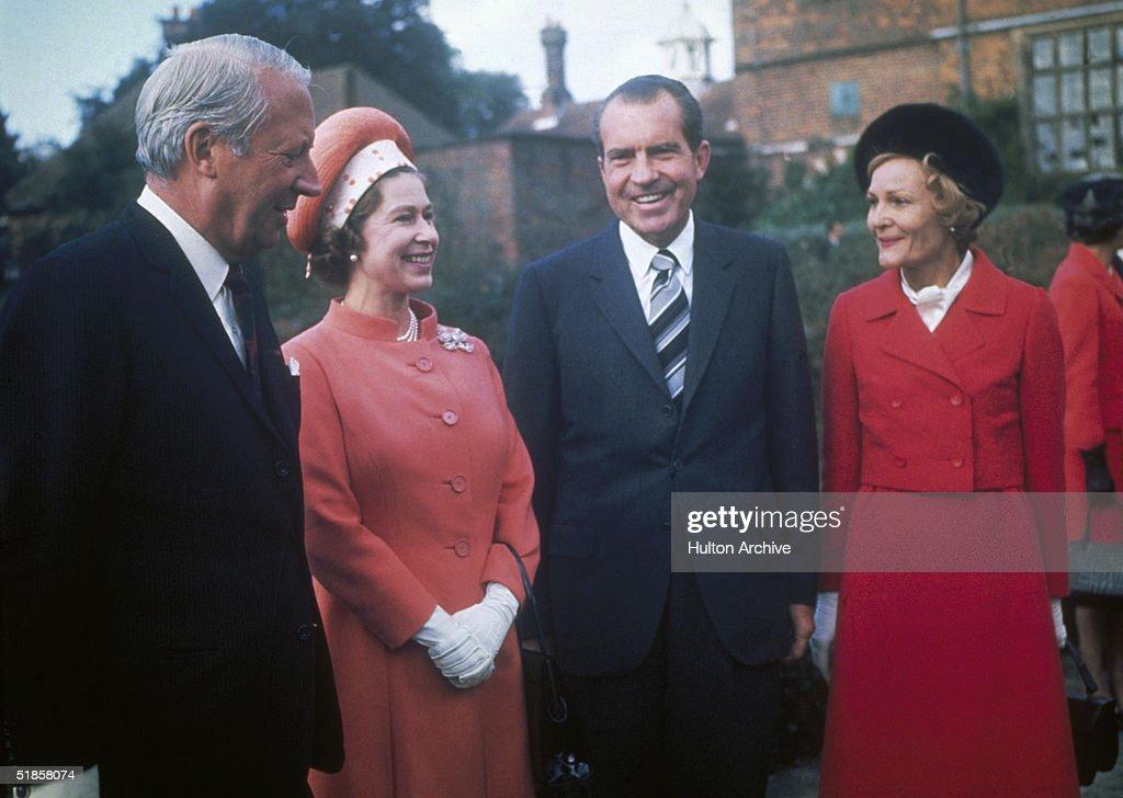 Nixon At Chequers : News Photo