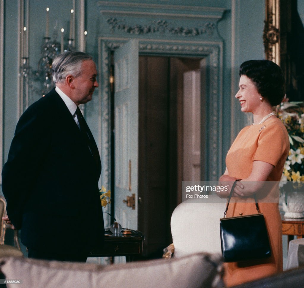 Queen With Wilson : News Photo