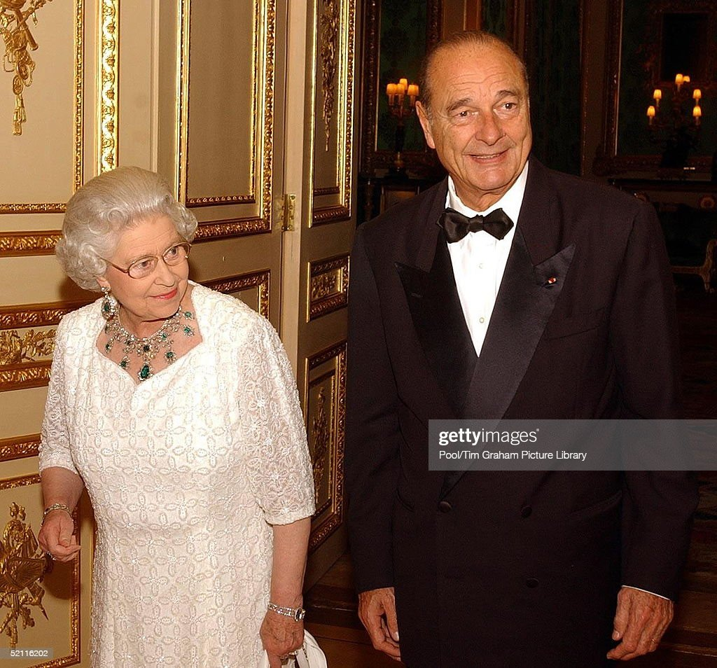 Queen And Chirac : ニュース写真