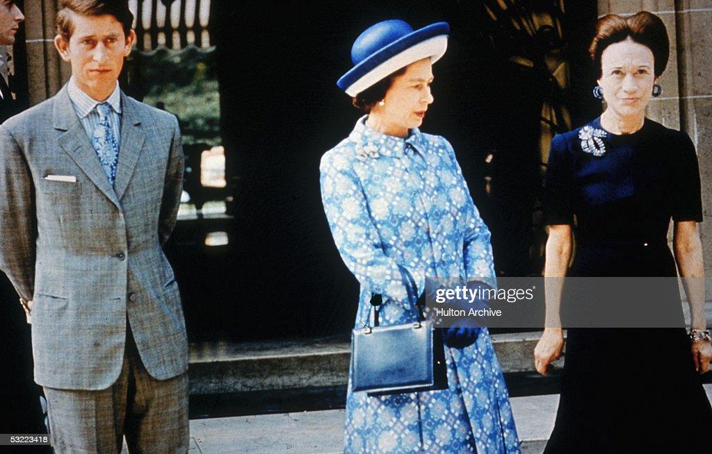 Queen With Wallis Simpson : News Photo
