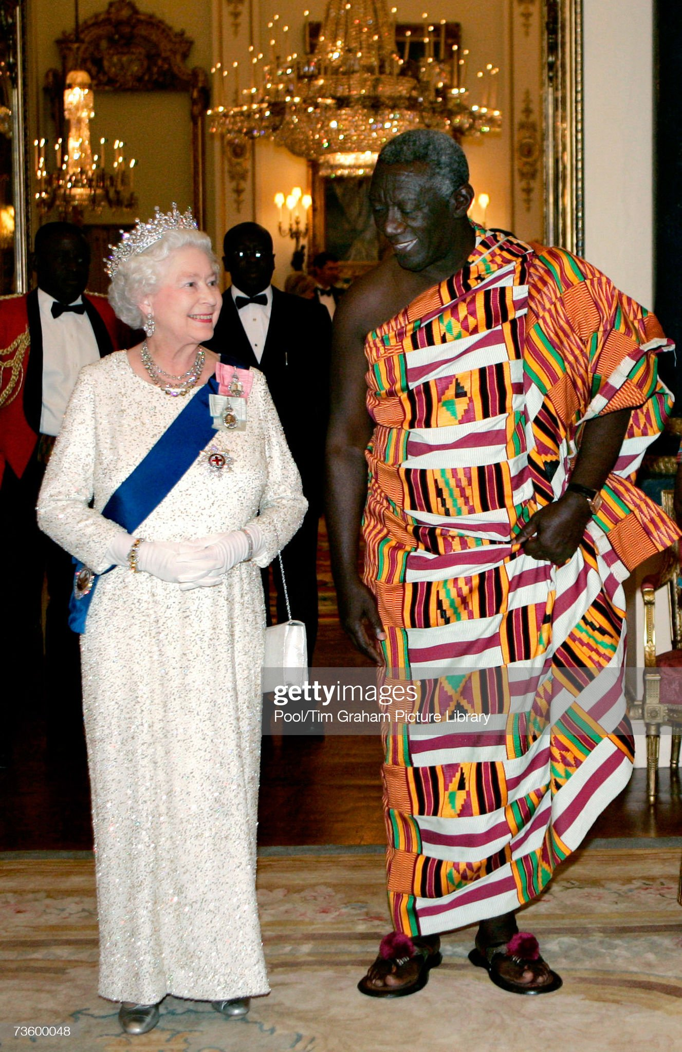 State Visit Banquet For President of Ghana : News Photo