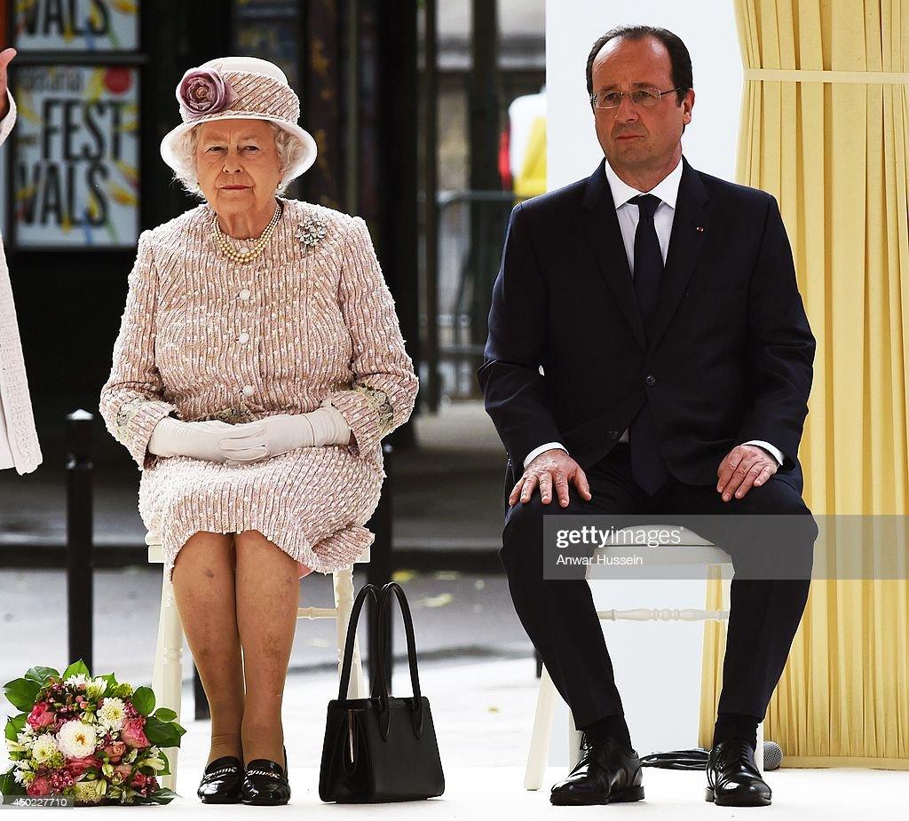 Queen Elizabeth II On Official Visit In Paris : Day 3 : News Photo