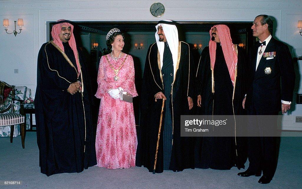Queen King Khaled Britannia : News Photo