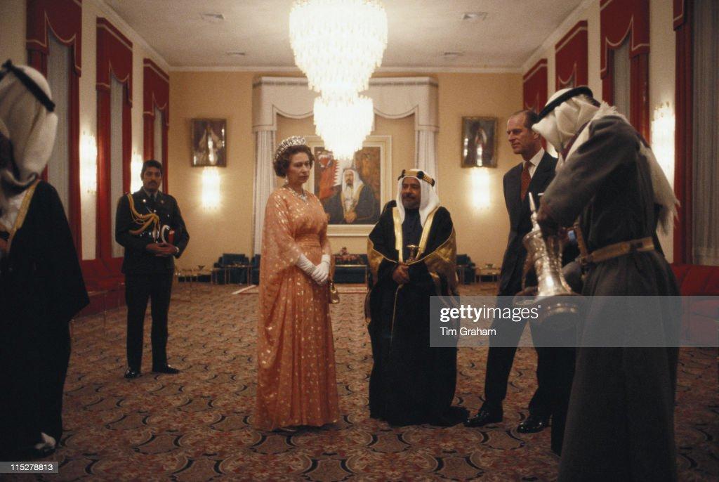 Royals In Bahrain : News Photo