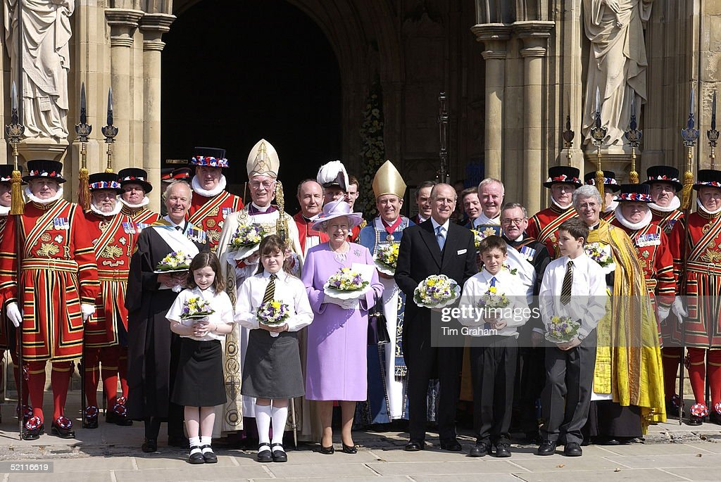 Queen Philip Maundy : News Photo