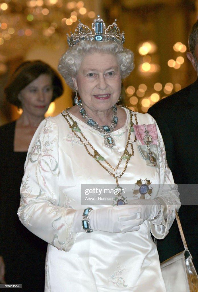 Brazilian State Banquet at Buckingham Palace - March 7, 2006 : News Photo