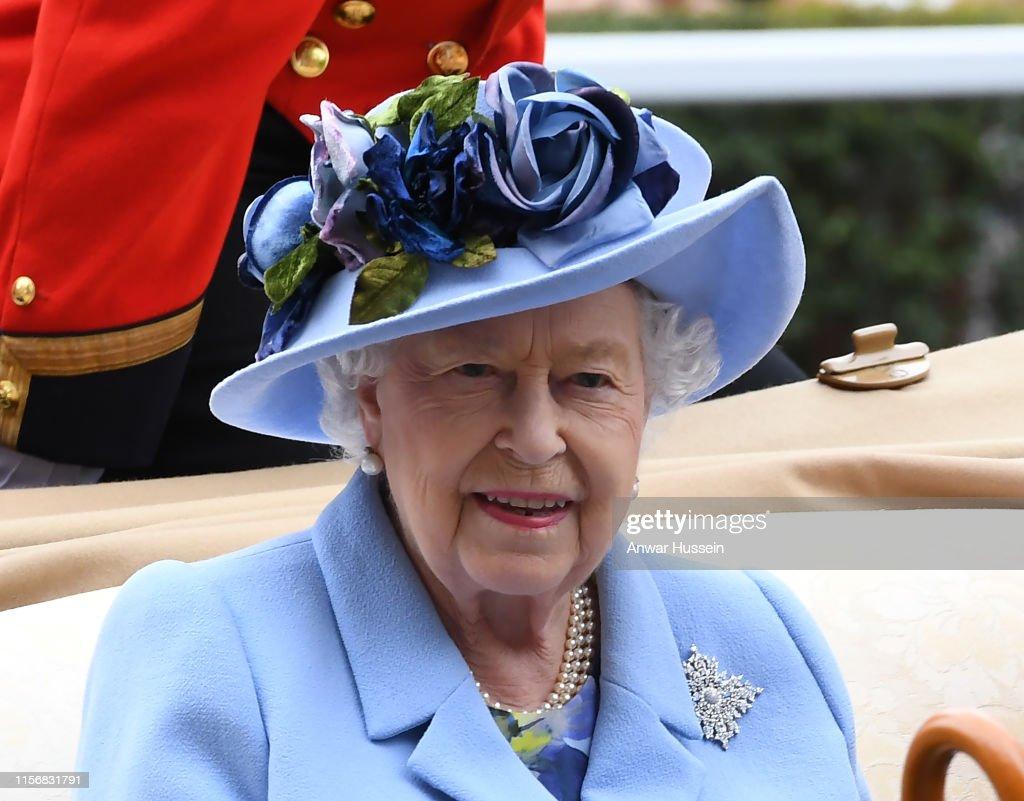 Royal Ascot 2019 - Day One : News Photo