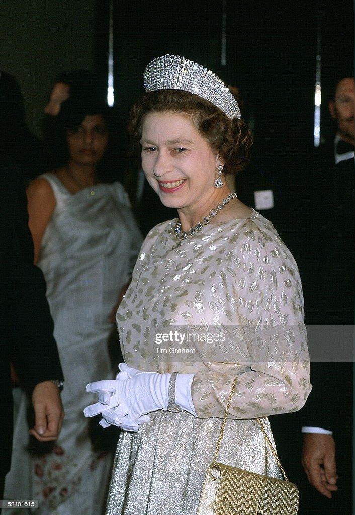 Queen Kokoshnik Tiara : News Photo