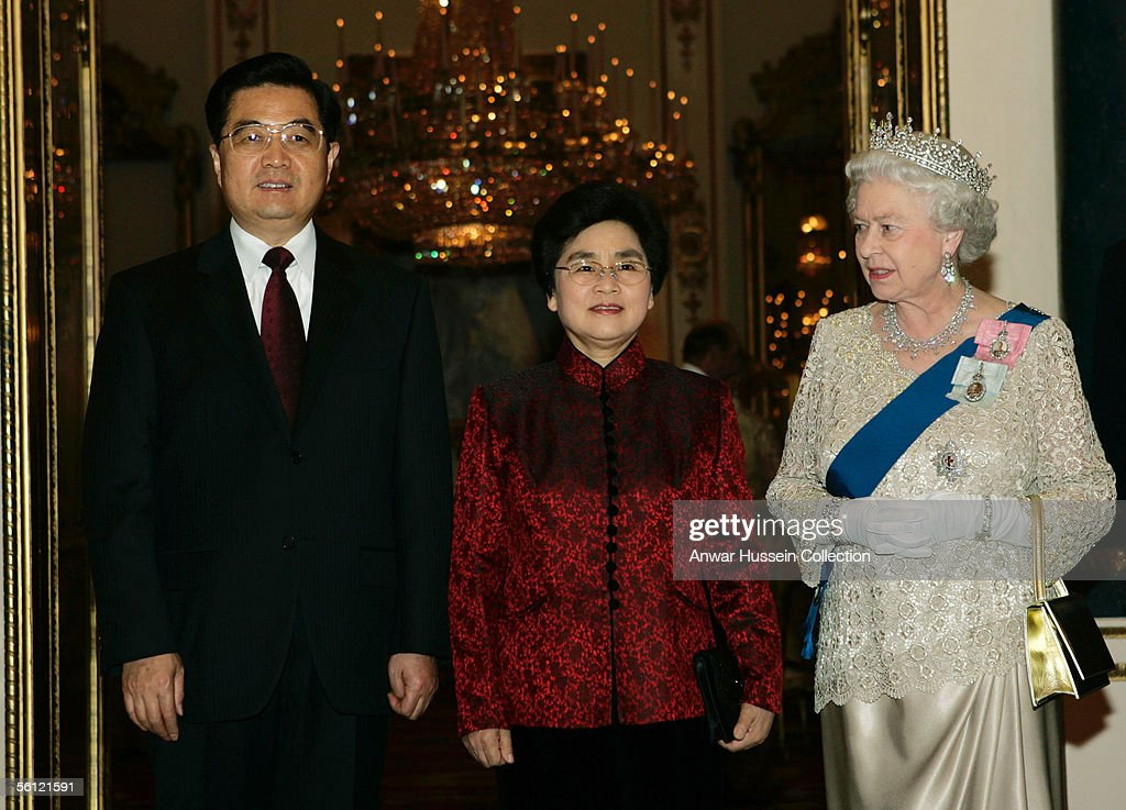 State Visit By President of China To London - Banquet : News Photo