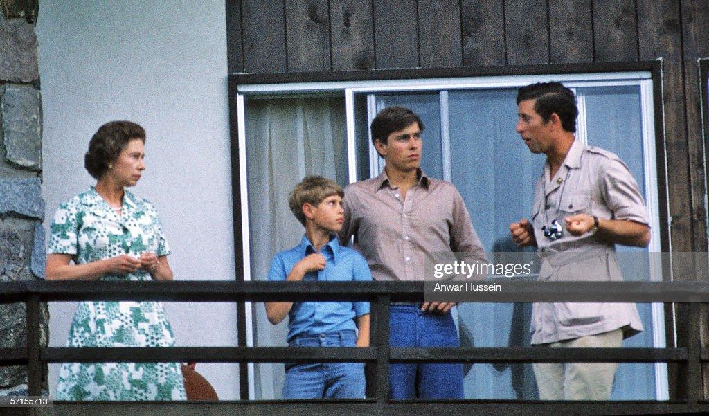 Royal visit to Olympic Games 1976 : ニュース写真