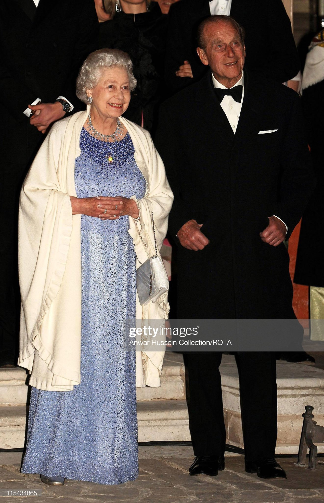 Private Dinner to Celebrate the Queen's 80th Birthday : News Photo
