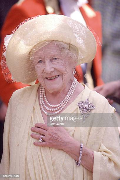 Queen Elizabeth Mother at Clarence House for 99th Birthday Celebrations 99