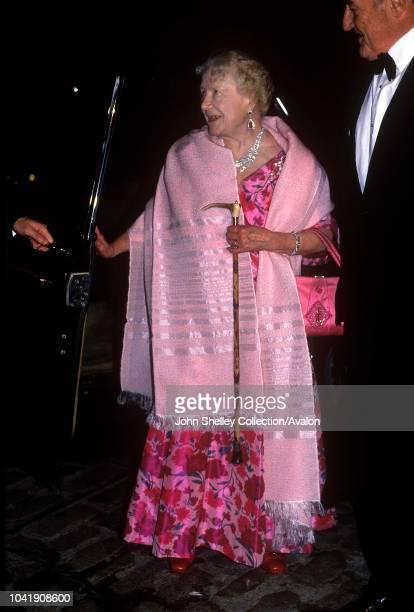 Queen Elizabeth The Queen Mother, 1990.