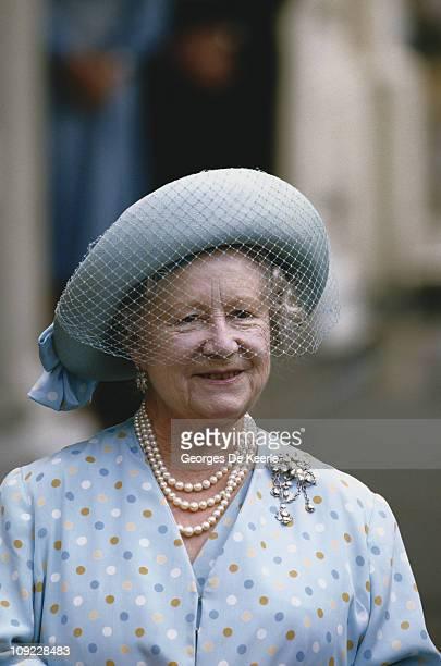Queen Elizabeth, the Queen Mother , circa 1990.