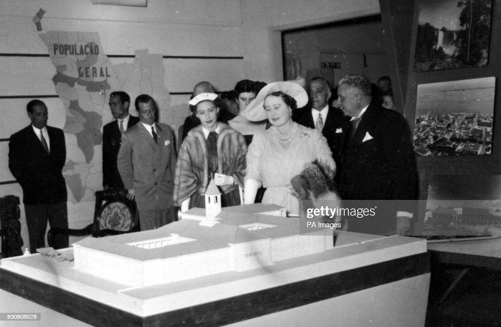 Queen Elizabeth II Mum Royal Tour of Rhodesia POSTER