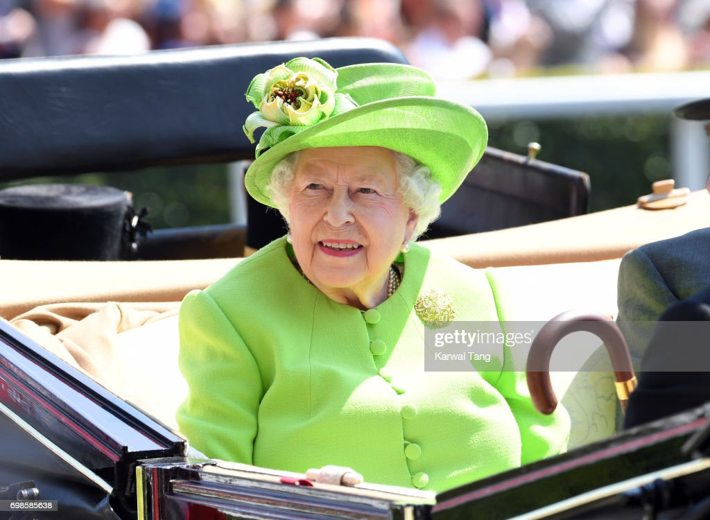 Queen Elizbeth II attends Royal Ascot 2017 at Ascot Racecourse on June 20, 2017 in Ascot, England.