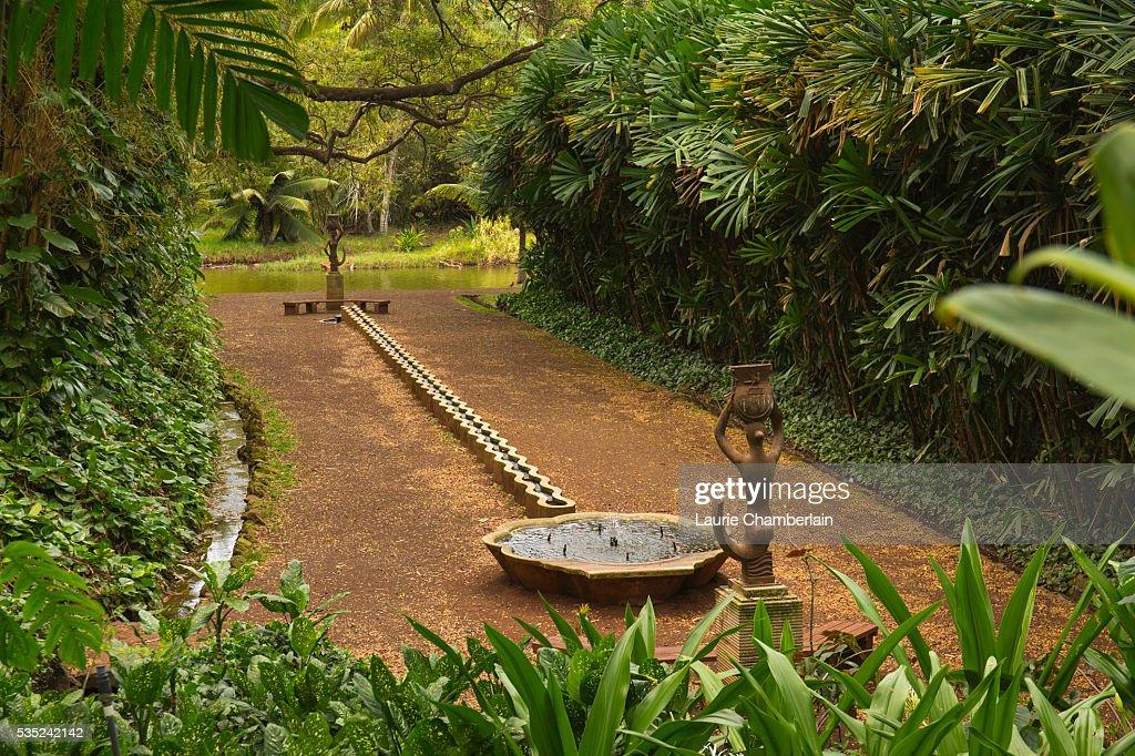 Queen Emma Room At National Tropical Botanical Garden, Allerton Garden
