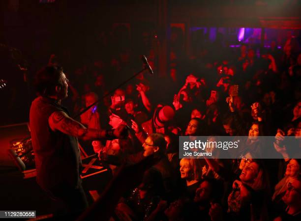 Queen Extravaganza performs onstage during Bohemian Rhapsody's Get Loud Extravaganza at Whiskey a Go Go on February 12 2019 in Los Angeles California
