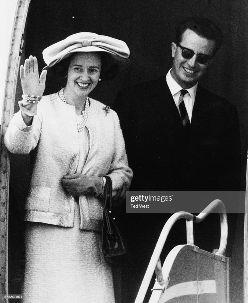Queen Fabiola And King Baudouin : News Photo