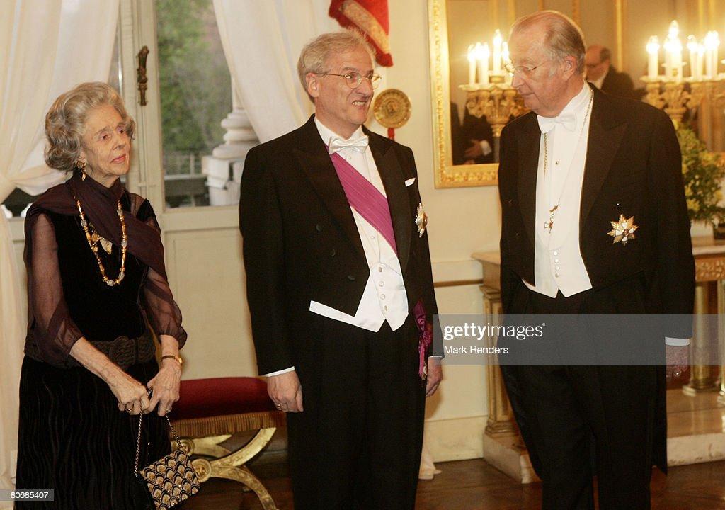 Hungary's President Laszlo Solyom on State Visit to Belgium - Day One : News Photo