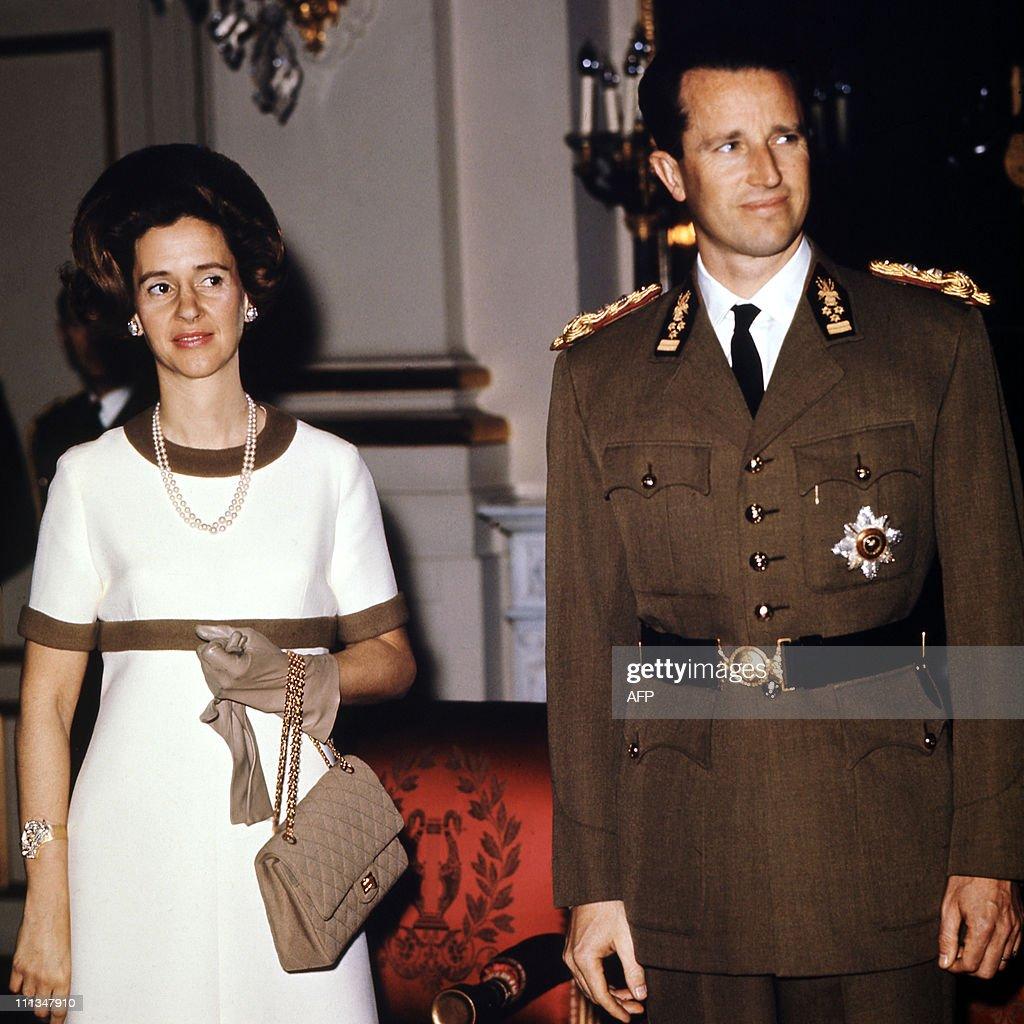 Queen Fabiola of Belgium and Belgian Kin : News Photo