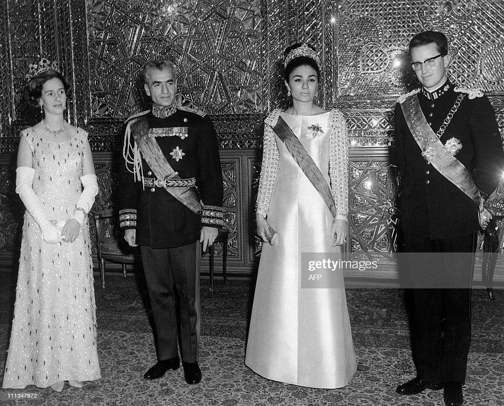 Queen Fabiola of Belgium, Mohammad Reza : News Photo