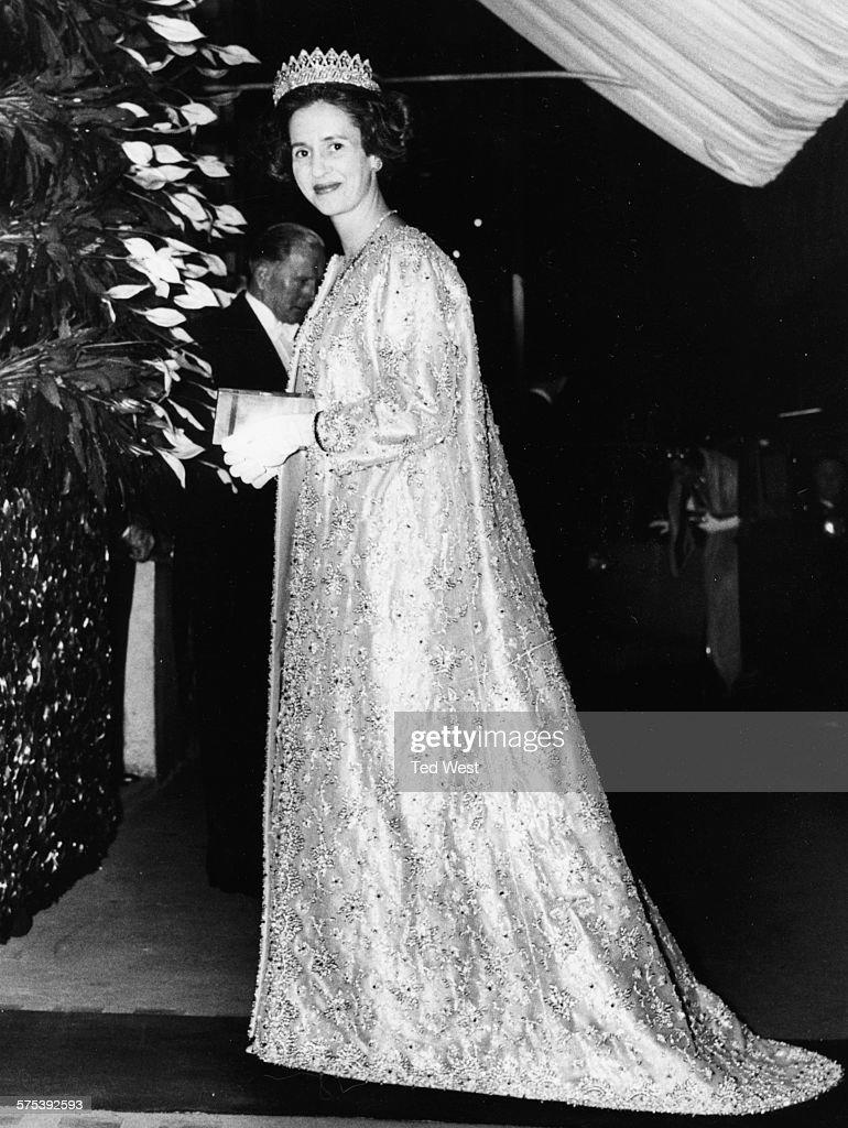 Queen Fabiola Of Belgium : News Photo