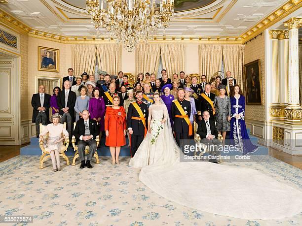 Queen Fabiola of Luxembourg GrandDuke Jean of Luxembourg GrandDuchess Maria Teresa of Luxembourg Crown Prince Guillaume of Luxembourg Princess...