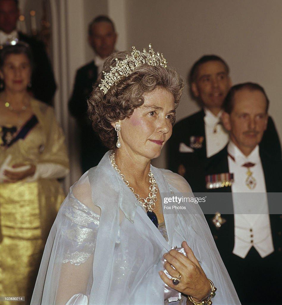 Queen Frederica of Greece : News Photo