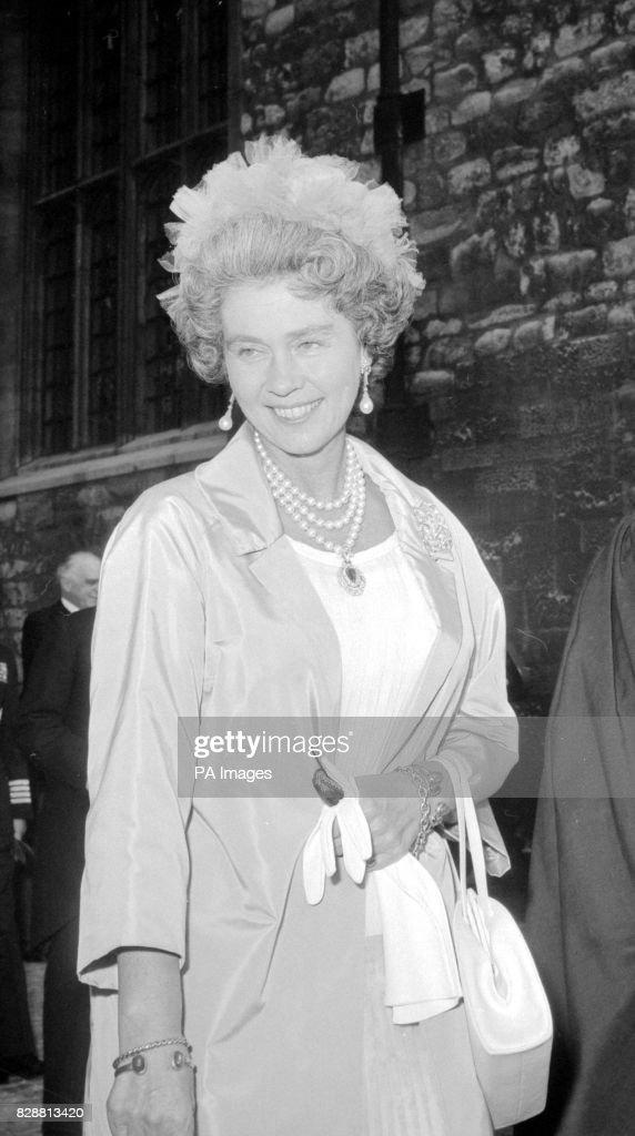 Queen Frederika of Greece : News Photo