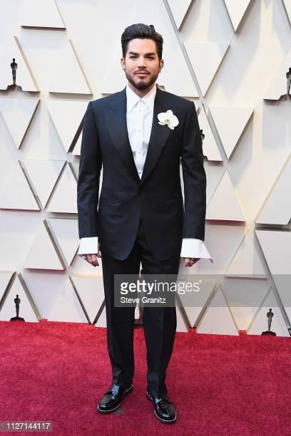 Queen Frontman Adam Lambert attends the 91st Annual Academy Awards at Hollywood and Highland on February 24 2019 in Hollywood California