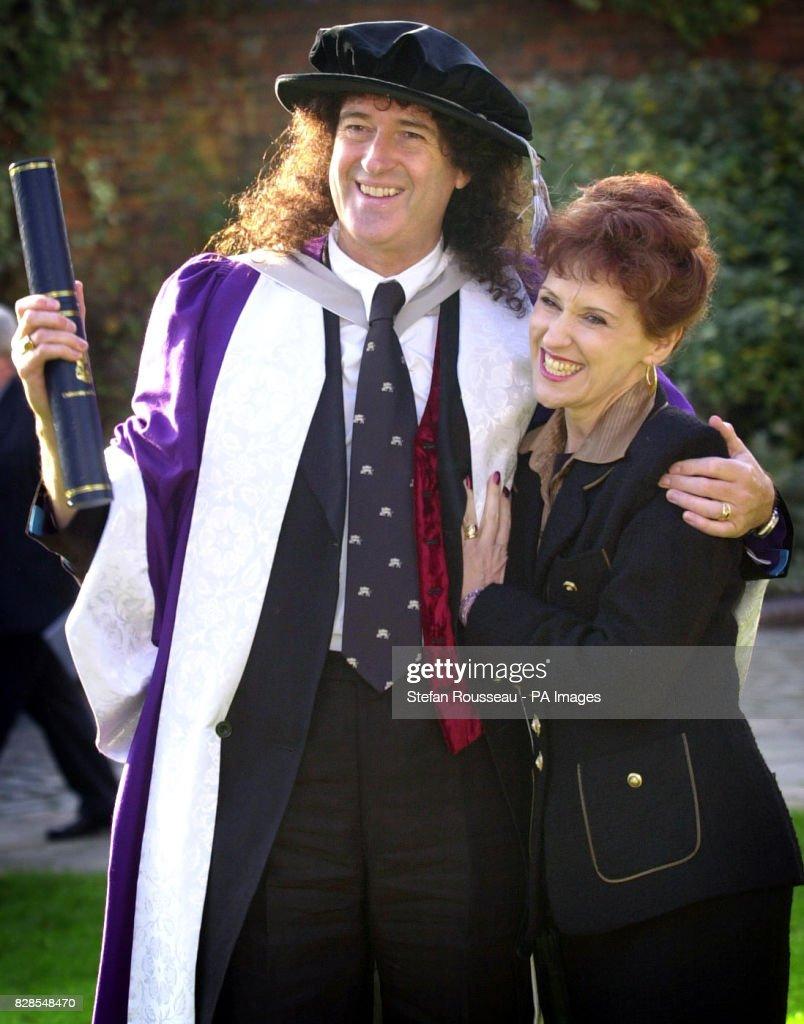 Brian May - Degree : News Photo