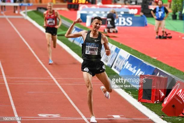 Queen Harrison of USA winner of 100m hurdle during the IAAF Diamond League Meeting Herculis on July 20 2018 in Monaco Monaco