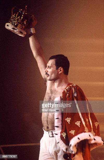 Queen In Concert In Brussels Belgium 1986 Freddie Mercury