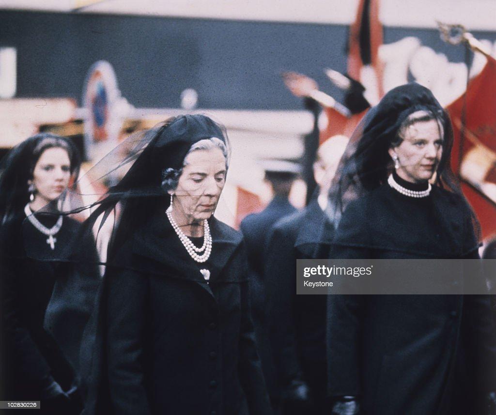 Funeral Of Frederick IX : News Photo
