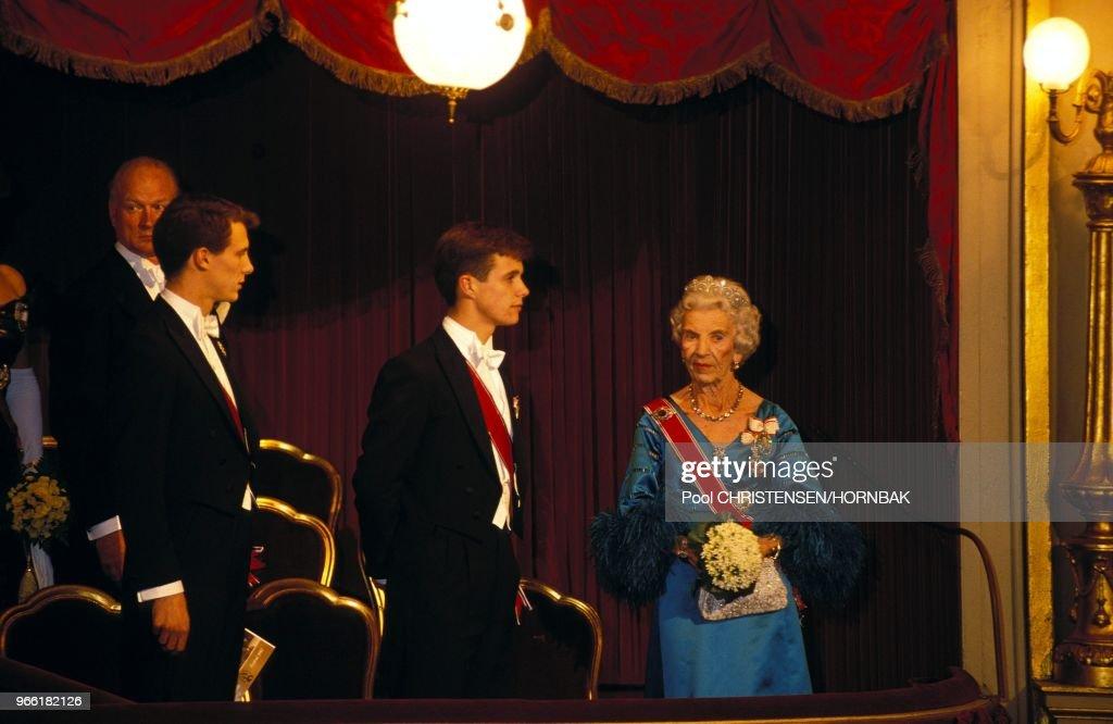 Royal norwegian couple visit to Copenhagen. : News Photo
