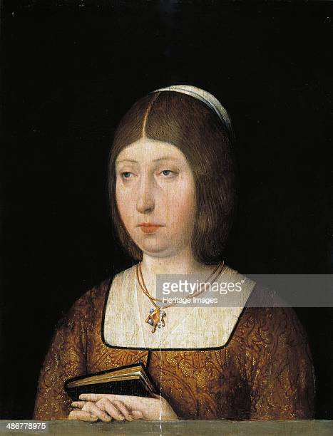Queen Isabella I of Castile c 1490 Artist Anonymous