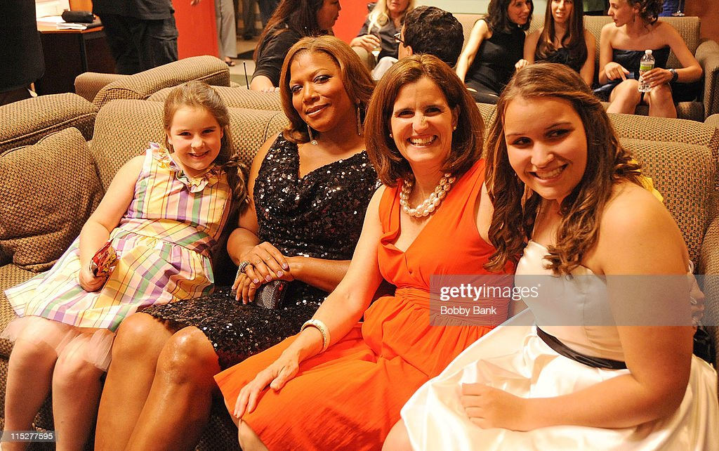 Queen Latifah and Mary Pat Christie attends the 2011 New Jersey Hall of Fame Induction Ceremony at the New Jersey Performing Arts Center on June 5, 2011 in Newark, New Jersey.