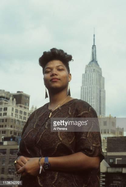 Queen Latifah appears in a portrait taken on October 6, 1989 in New York City.