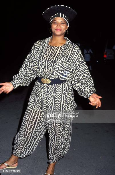 Queen Latifah at the 1990 MTV Video Music Awards at in Los Angeles, California.
