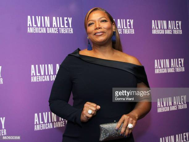 Queen Latifah attends Alvin Ailey's 2017 Opening Night Gala at New York City Center on November 29 2017 in New York City