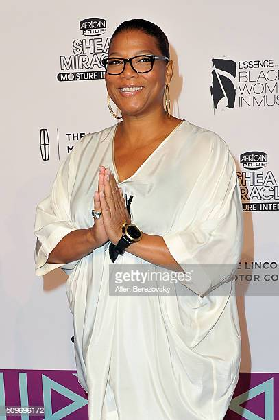 Queen Latifah attends ESSENCE 7th Annual Black Women In Music at Avalon Hollywood on February 11 2016 in Los Angeles California