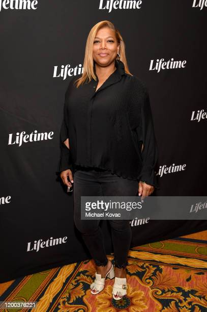 Queen Latifah attends Lifetime's TCA Panels featuring Supernanny and The Clark Sisters: First Ladies of Gospel at the 2020 Winter Television Critics...