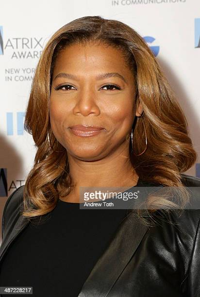 Queen Latifah attends the 2014 Matrix Awards at The Waldorf=Astoria on April 28 2014 in New York City