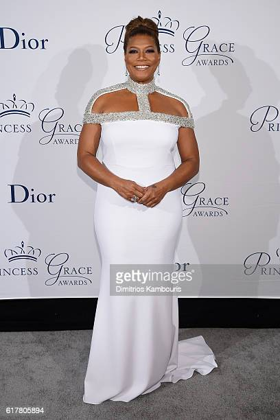 Queen Latifah attends the 2016 Princess Grace Awards Gala with presenting sponsor Christian Dior Couture at Cipriani 25 Broadway on October 24 2016...